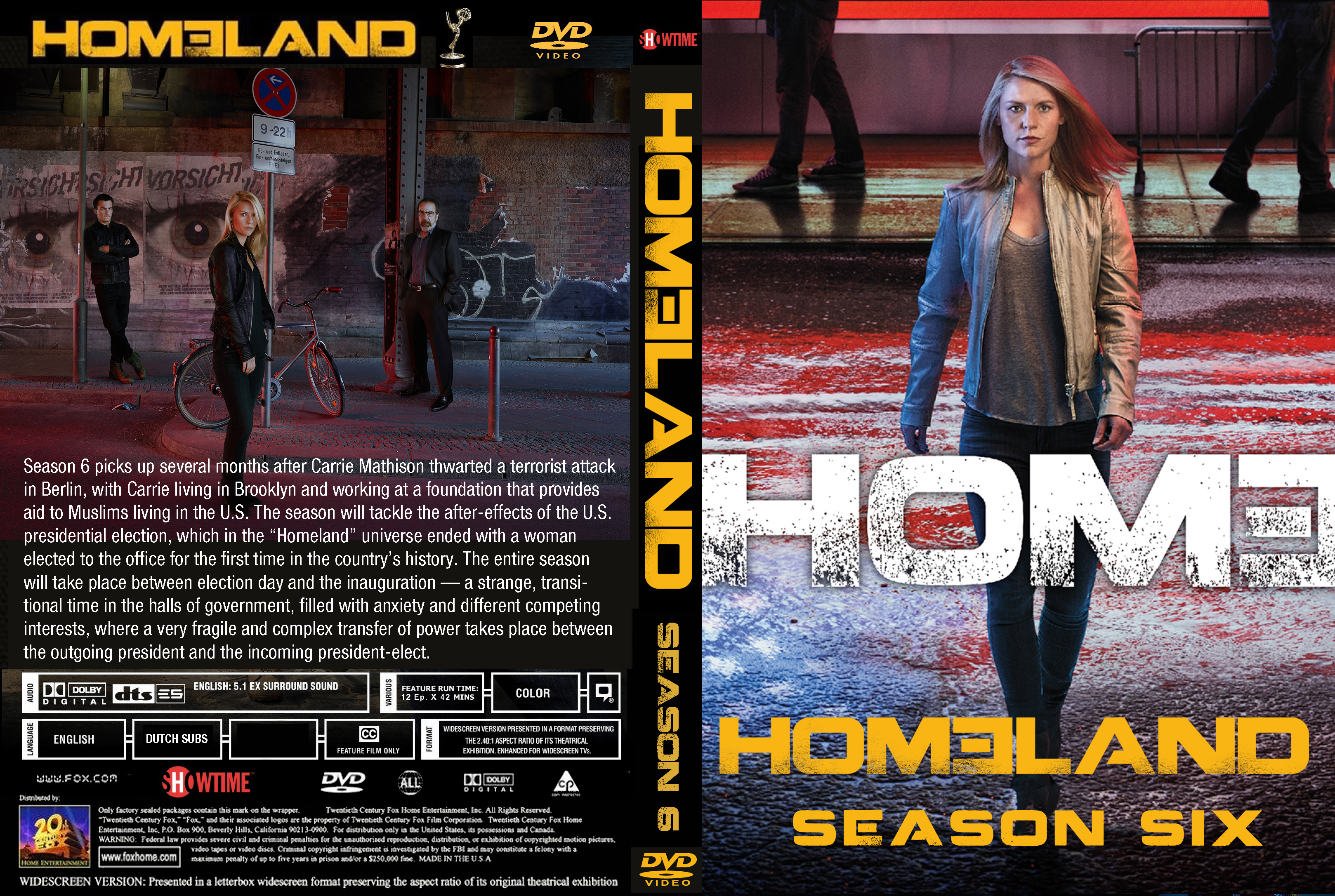 homeland staffel 6 dvd